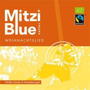 Fairtrade Schokolade Zotter Mitzi Blue Weihnachtslied