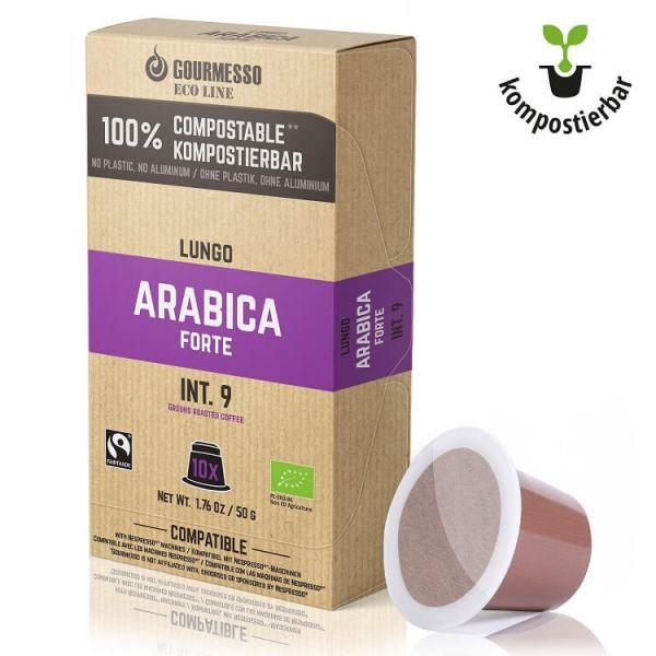 Gourmesso Kaffeekapseln Arabica Lungo Forte