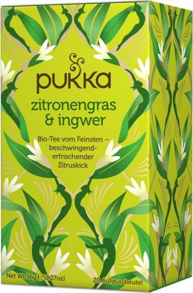 Pukka Tee Zitronengras Ingwer