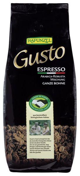 rapunzel espresso gusto italiana bohne 1kg