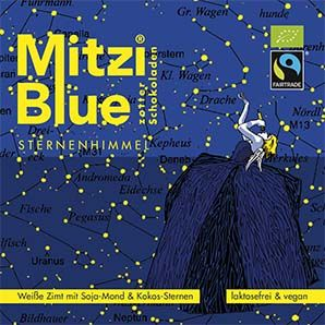 Zotter Mitzi Blue Sternenhimmel