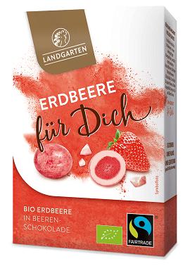 Landgarten schokolierte Erdbeere für dich
