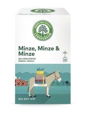 Lebensbaum Tee Minze Minze Minze