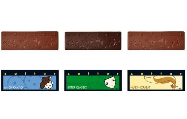 Zotter Trinkschokolade 3er Set Klassisch