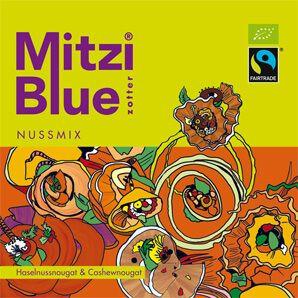Fairtrade Schokolade Zotter Mitzi Blue Nussmix