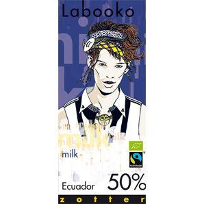 Fairtrade Schokolade Labooko 50% Ecuador
