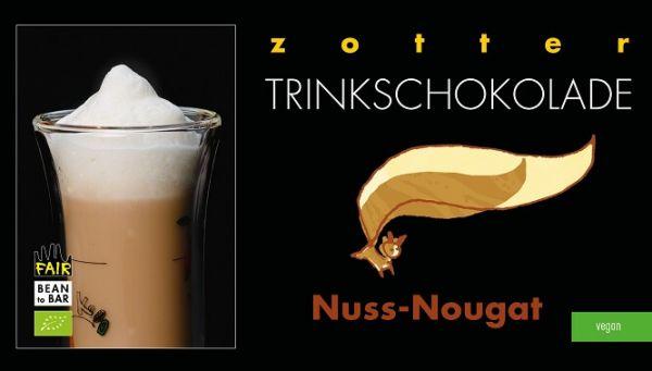 Zotter Trinkschokolade Nuss-Nougat 1