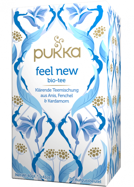 pukka tee feel new