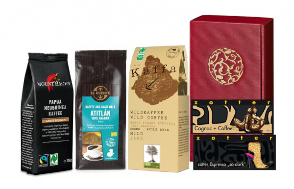 geschenkset kaffee bio fairtrade produkte