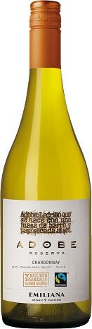 Fairtrade Wein Emiliana Organico Adobe Chardonnay