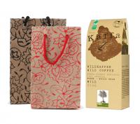 Kaffa Wildkaffee mit Geschenktasche