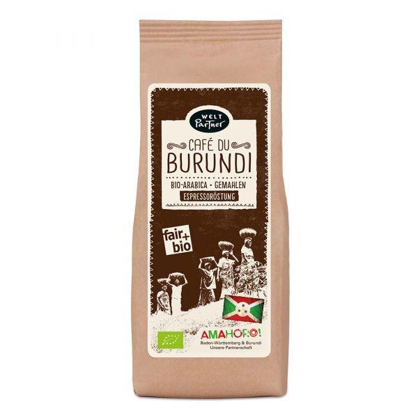 Weltpartner Café du Burundi 250g espresso gemahlen