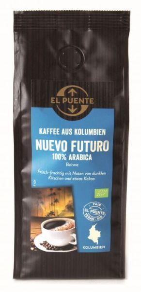 Arabica Kaffee Kolumbien Nuevo Futuro ganze Bohne