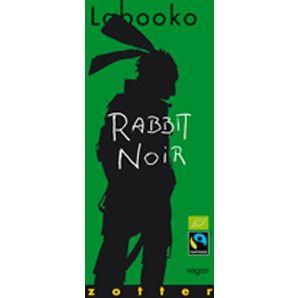 Zotter Labooko Rabbit Noir
