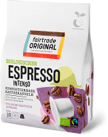 fair trade original espressokapseln intenso kompostierbar