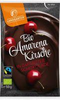 Fairtrade Schokolade Landgarten Amarena Zartbitter