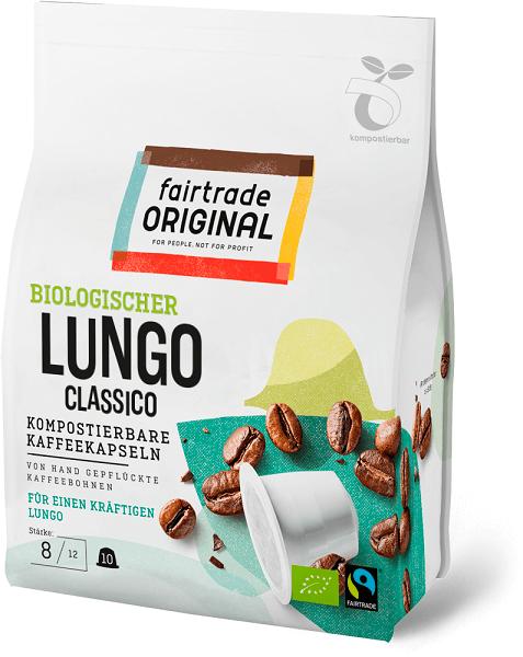 fair trade original espressokapseln lungo kompostierbar