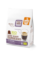 fair trade original espressokapseln dark kompostierbar
