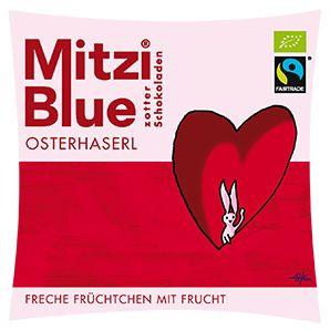 Zotter Mitzi Blue Schokolade Osterhaserl 1