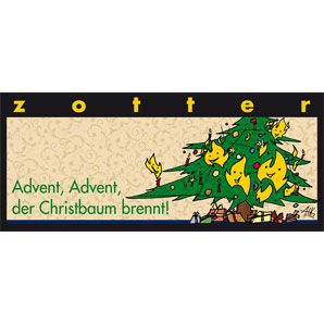 Fairtrade Schokolade Zotter Advent, Advent