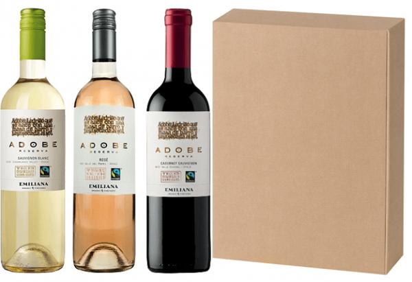 Wein Geschenkset Chile natur