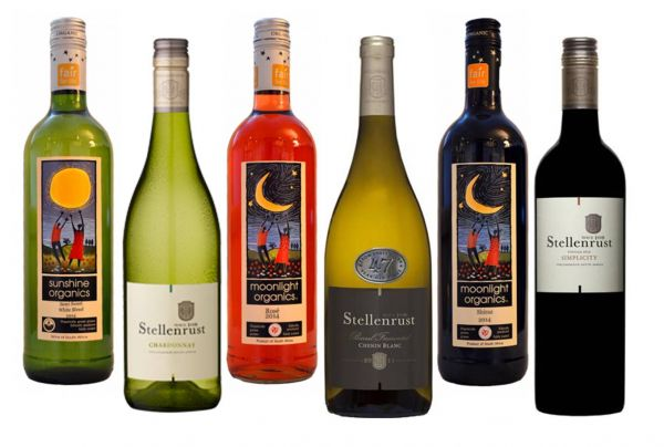 Weinsortiment Südafrika