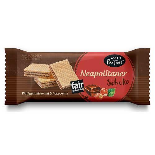 Weltpartner Neapolitaner Waffel Schokolade