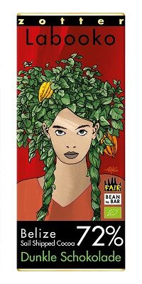 Fairtrade Schokolade Zotter Labooko 72% Belize