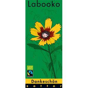 Fairtrade Schokolade Labooko Dankeschön