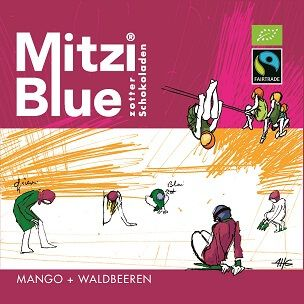 Fairtrade Schokolade Zotter Mitzi Blue Mango Waldbeeren1