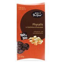 Physalis in Zartbitterschokolade