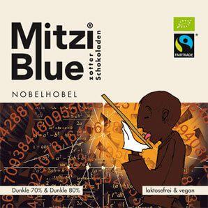 Fairtrade Schokolade Zotter Mitzi Blue Nobelhobel