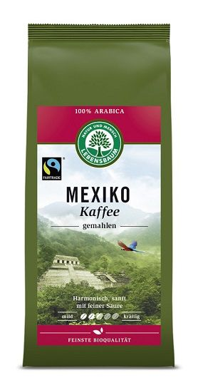 Lebensbaum Mexiko Kaffee gemahlen 250g